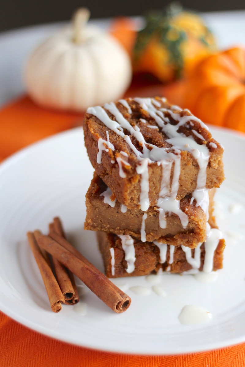 Paleo Pumpkin Blondies (AIP) | Fed and Fulfilled